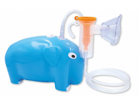 ORO-MED COMPRESSOR INHALATOR ELEFANT BLUE