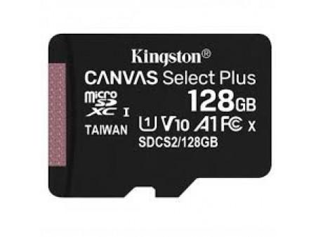 KINGSTON MICROSD 128GB CLASS10 CANVAS SELECT PLUS SDCS2 100 MB/s