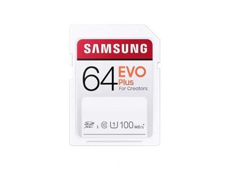 SAMSUNG SD MEMORIJA 64GB EVO PLUS