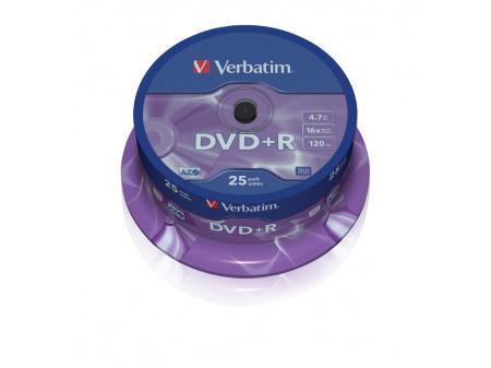 VERBATIM DVD-R 16X 4.7GB 25P SP