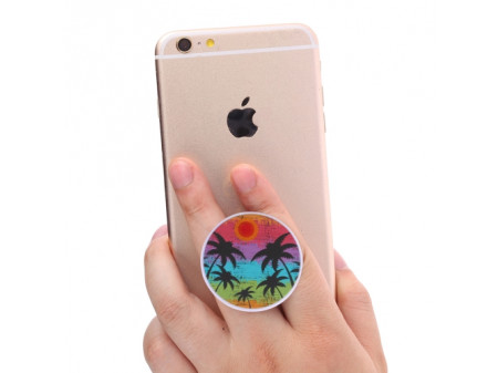POP SOCKET DRŽAČ ZA SMARTPHONE S UZORKOM COCONUT TREE