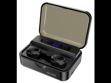 KELODO S590LED BLUETOOTH EARPHONES BLACK