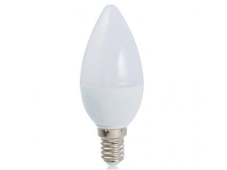 OPTONICA LED CANDLE ŽARULJA E14 4W 230V TOPLA BIJELA