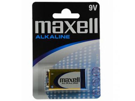MAXELL ALKALNE BATERIJA 6 LR61 9 V, blister 1 kom
