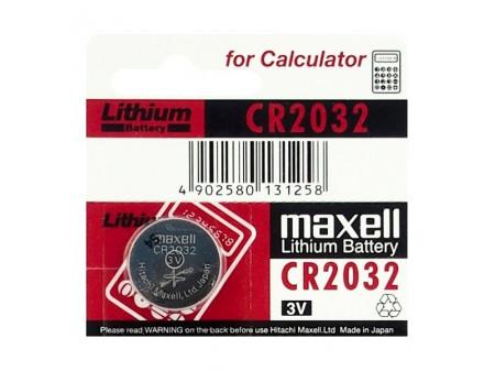 MAXELL DUGMASTA BATERIJA CR2032 (2032) LITIJ-ION BLISTER, 1 KOM