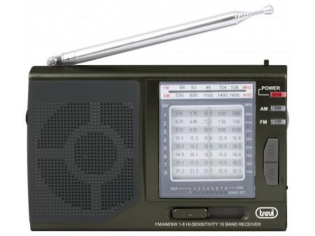 TREVI MB 728 PRIJENOSNI RADIO BLACK