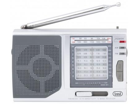 TREVI MB 728 PRIJENOSNI RADIO SILVER