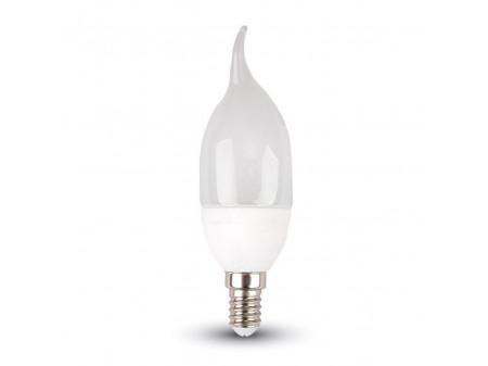 V-TAC LED candle  flame žarulja E14 4W 230V topla bijela, 2700K