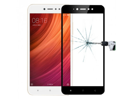 KALJENO STAKLO FULL SCREEN ZA XIAOMI REDMI NOTE 5A BLACK - RASPRODAJA