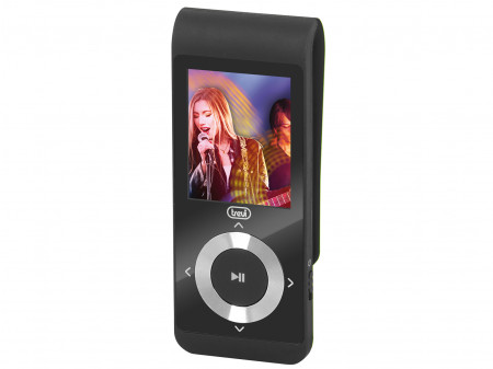 TREVI MPV 1728 4GB MICROSD MP3 PLAYER CRNI