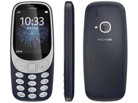 NOKIA 3310 (2017) DUAL SIM BLUE (ODLIČNO STANJE, KORIŠTEN - NEMA HR MENU)