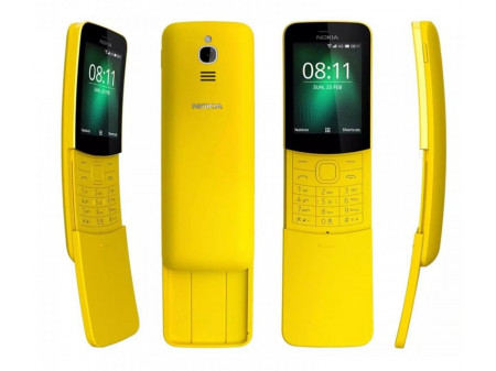 NOKIA 8110 (2018) DUAL YELLOW (ENG MENU)
