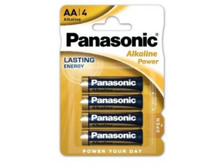 PANASONIC Power alkalna baterija, 4 x LR06 (AA), 1,5 V, mignon, blister
