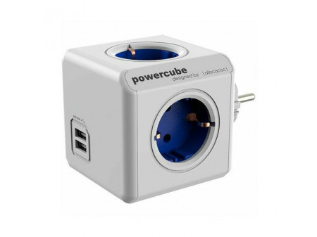 POWERCUBE ORIGINAL USB RAZDJELNIK PLAVI