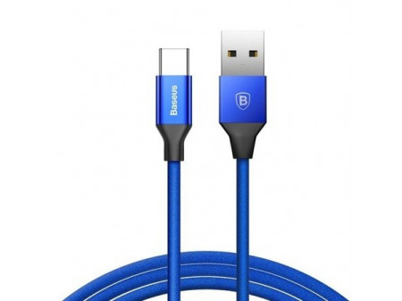 BASEUS YIVEN KABEL USB TYPE-C QUICK CHARGE 3A 1,2M BLUE