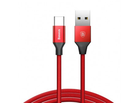 BASEUS YIVEN KABEL USB TYPE-C QUICK CHARGE 3A 1,2M RED