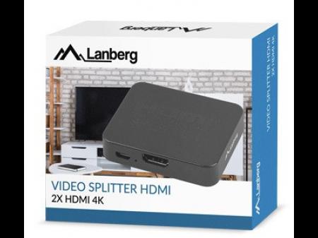 LANBERG RAZDJELNIK 2HDMI 4K TO MICRO USB