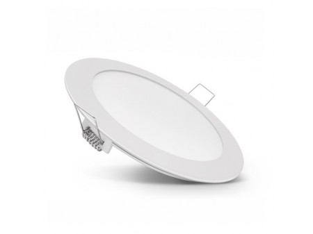 OPTONICA UGRADBENI OKRUGLI PANEL 18W 2800K TOPLA BIJELA (GLASS REFLECTOR)