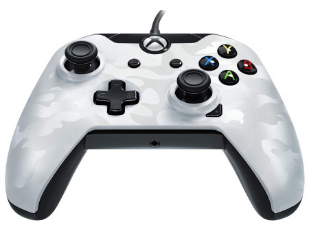 MICROSOFT XBOX ONE PDP WIRED CONTROLLER WHITE CAMO