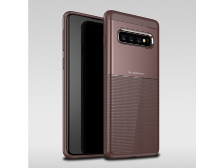 ZADNJA MASKA CARBON FIBER ZA SAMSUNG GALAXY S10 PLUS BROWN