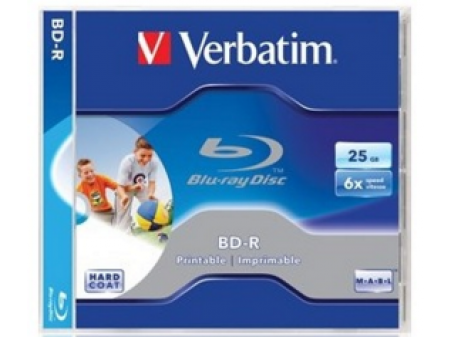 VERBATIM BD-R 6X 25GB BOX 1 KOMAD PRINTABLE