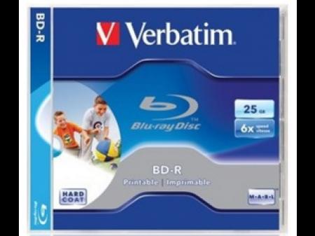 VERBATIM BD-R 6X 25GB BOX 1 KOMAD PRINTABLE