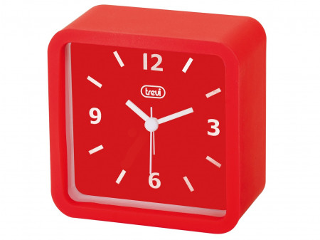 TREVI SL 3820 QUARTZ ALARM SAT RED