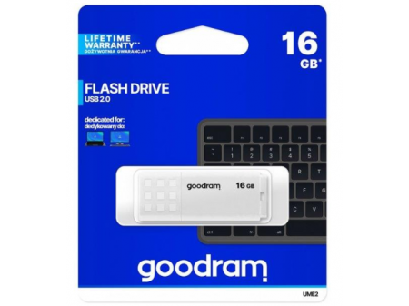 GOODRAM UME2-0160W0R11 16GB USB2.0 WHITE