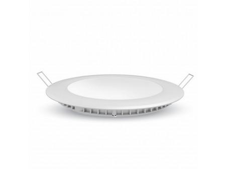 V-TAC Ugradbeni okrugli panel (downlighter) 18W topla bijela, 2700K