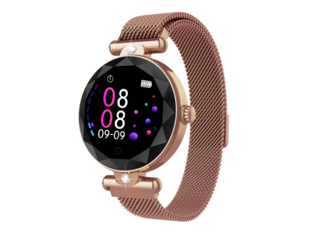 ZGPAX SMARTWATCH ROSE GOLD