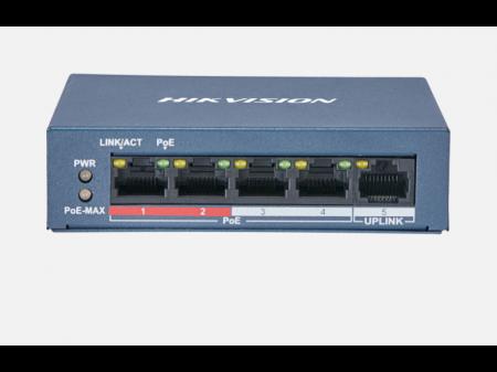 HIKVISION DS-3E0105P-E 4 KANALNI POE SWITCH
