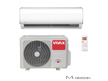VIVAX COOL M DESIGN INVERTERSKI KLIMA UREĐAJ 2,93KW, ACP-09CH25AEMI R32
