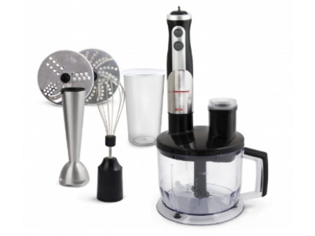 ESPERANZA HAND BLENDER CREMA 800W STAINLESS STEEL ROD & FULL SET EKM004