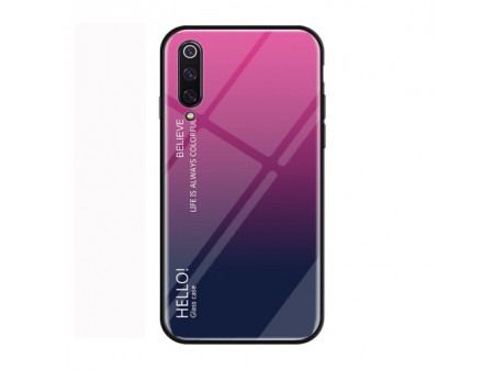 ZADNJA MASKA GLASS ZA XIAOMI MI 9 PURPLE